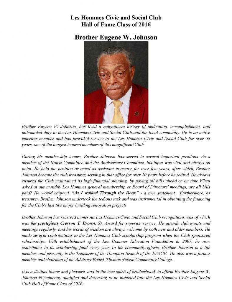 Eugene W. Johnson